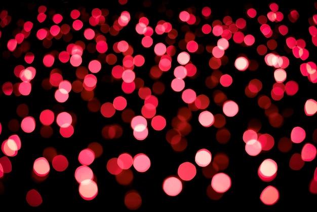 Boże narodzenie i nowy rok czerwony niewyraźne niewyraźne tło bokeh
