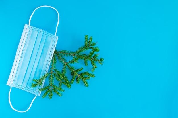 Boże narodzenie nowy rok z gałęziami