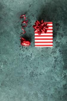 Boże narodzenie pudełko na tło uroczysty.