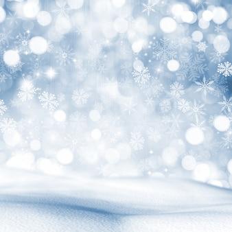 Boże narodzenie śniegu tło