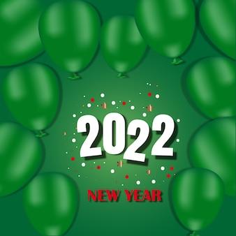 Boże narodzenie tło. świąteczny projekt musujących balonów, brokatowe złote konfetti. świąteczny plakat, kartki okolicznościowe, baner strony internetowej. płaski widok z góry.
