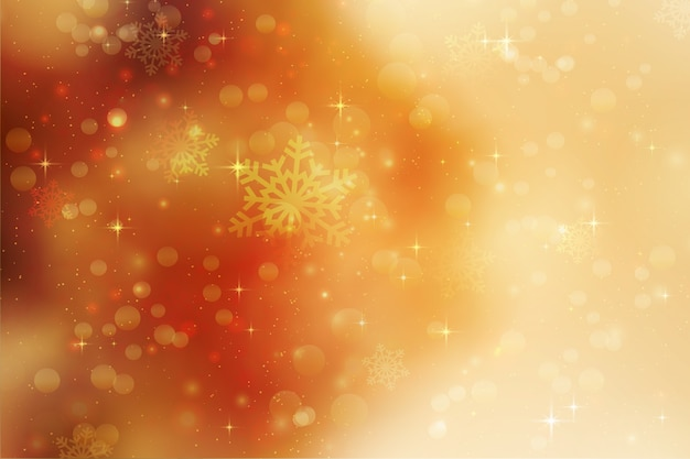 Boże narodzenie tło z płatki śniegu i gwiazd