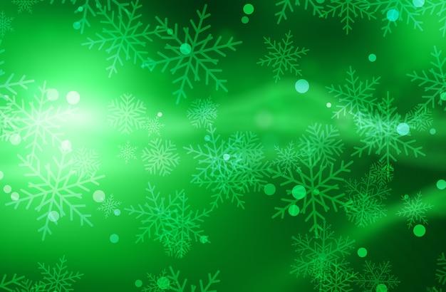 Boże narodzenie tło z płatki śniegu
