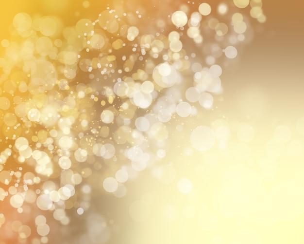 Boże narodzenie tło z światła bokhe