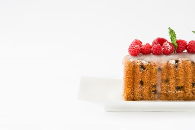 Bożenarodzeniowa owocowego torta kopii przestrzeń