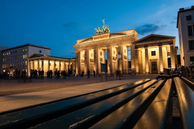 Brama brandenburska, berlin