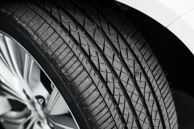 Brand new car tyre