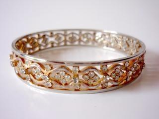 Bransolety ze złota, srebra
