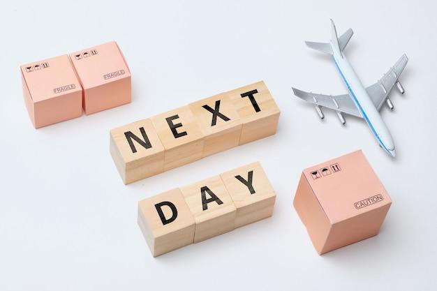 Branża kurierska termin dostawy towarów - następnego dnia.