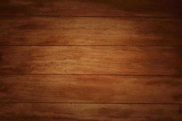 Brązowa drewniana podłoga