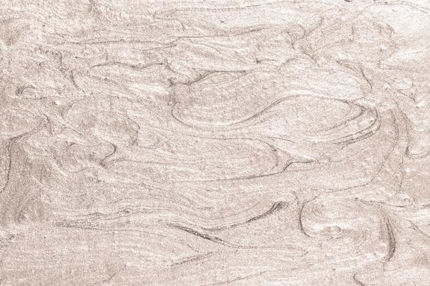 Brązowa farba olejna pociągnięcie pędzla teksturowane tło