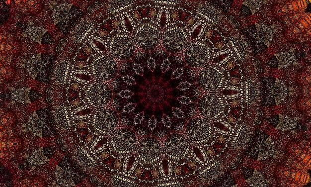 Brązowa gwiazda z chropowatą fakturą, abstrakcyjny rysunek brązowych linii, streszczenie tło.