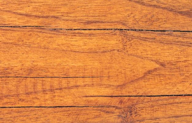 Brązowa powierzchnia tekstury drewna tekowego z naturalnym wzorem