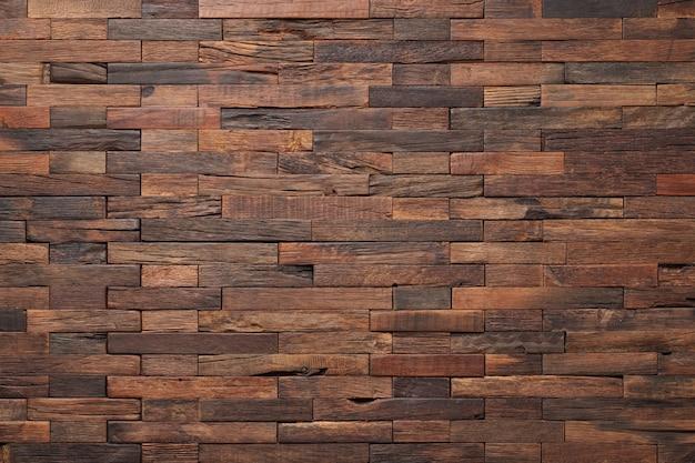 Brązowa ściana z drewna tekstury, rustykalne tło drewna