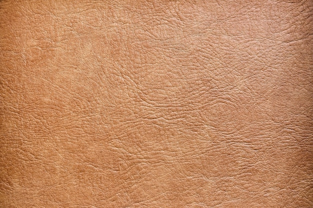 Brązowa skóra tekstura powierzchni tła