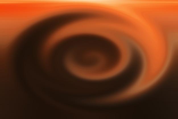 Brązowa tekstura koła, jak gorąca kawa w filiżance