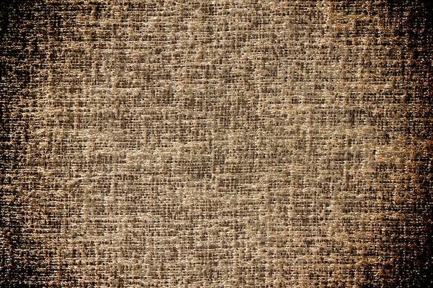 Brązowa tkanina tekstura.
