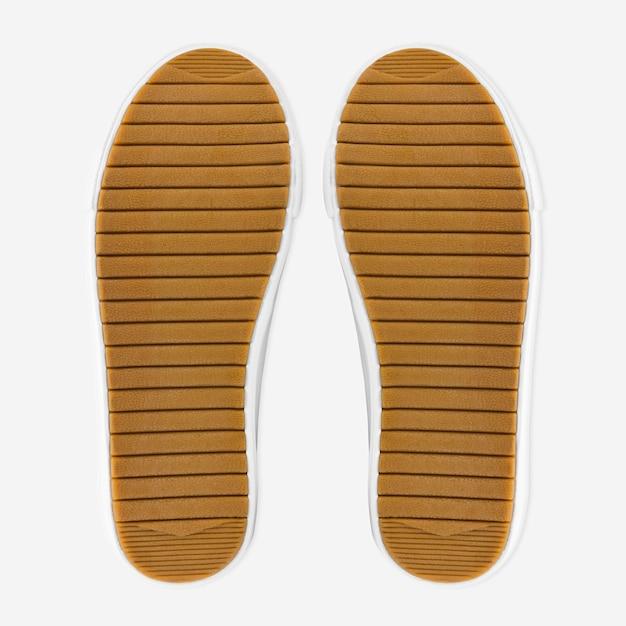 Brązowe buty podeszwa obuwia moda