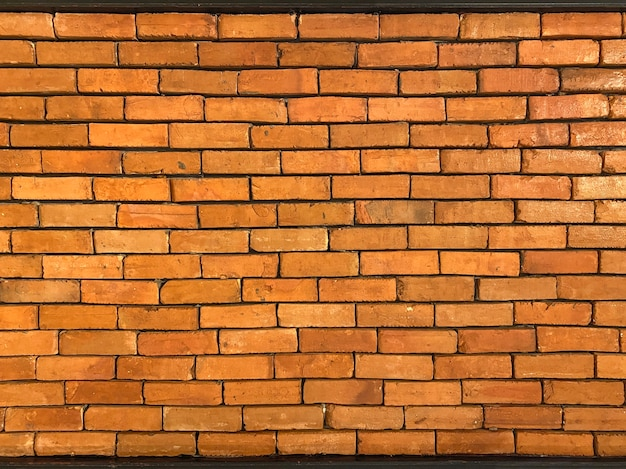 Brązowe cegły ściany tekstura tło.