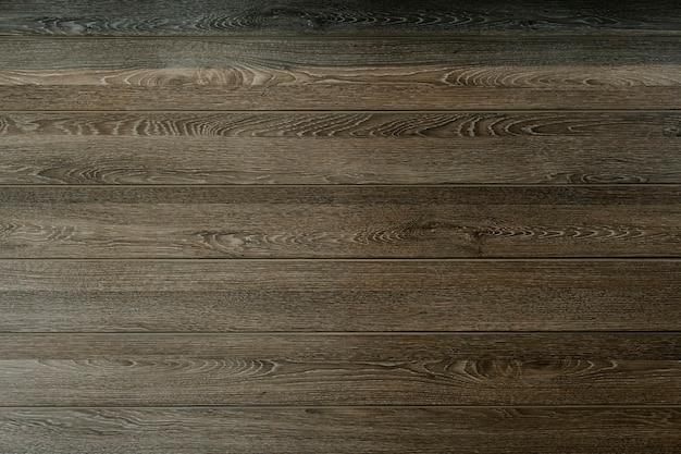 Brązowe drewniane deski teksturowane tło