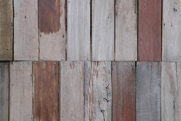 Brązowe drewniane deski tekstury z naturalnym wzorem abstrakcyjnym tle do projektowania i dekoracji