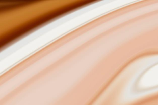 Brązowe marmurowe tło farby fali
