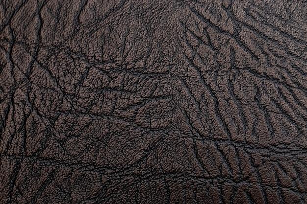 Brązowe skórzane tekstury tła