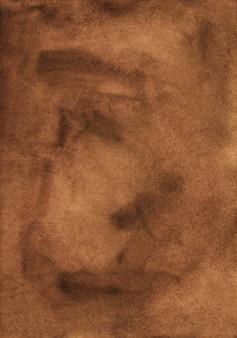 Brązowe tło akwarela powierzchni