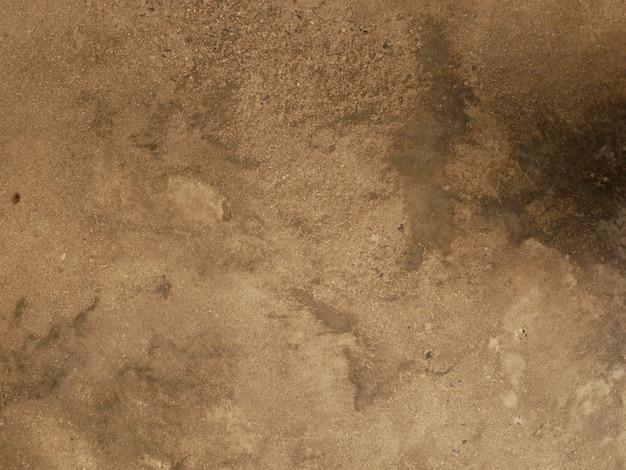 Brązowy cementowy mur