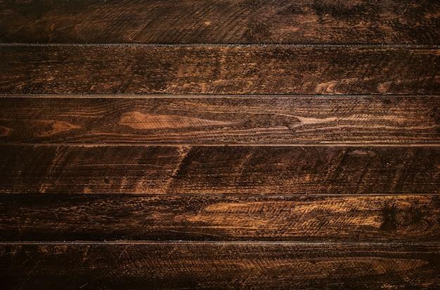 Brązowy deski drewniane tekstury