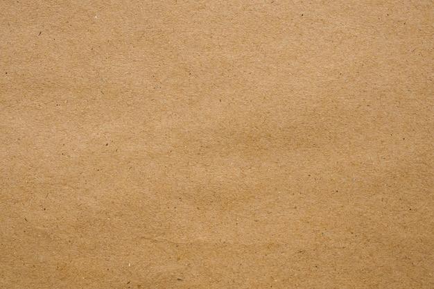 Brązowy eko recyklingowany papier pakowy arkusz tekstury ściany kartonowe
