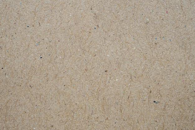 Brązowy eko recyklingowy papier pakowy arkusz tekstury karton tło