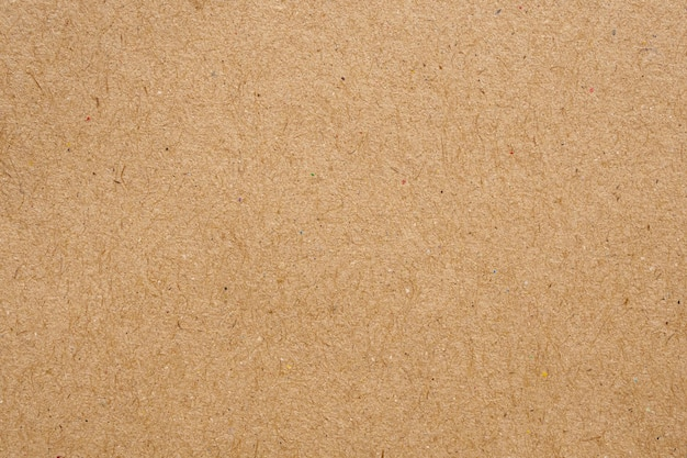 Brązowy papier ekologiczny z recyklingu kraft arkusz tekstury tektury