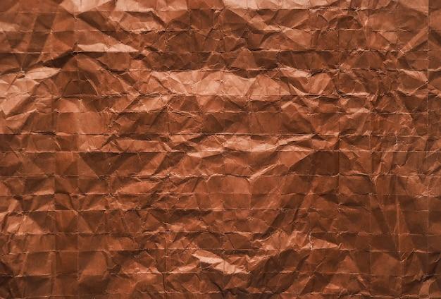 Brązowy papier falisty
