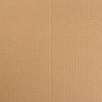 Brązowy papier pudełko lub tektury falistej arkusz tekstura tło