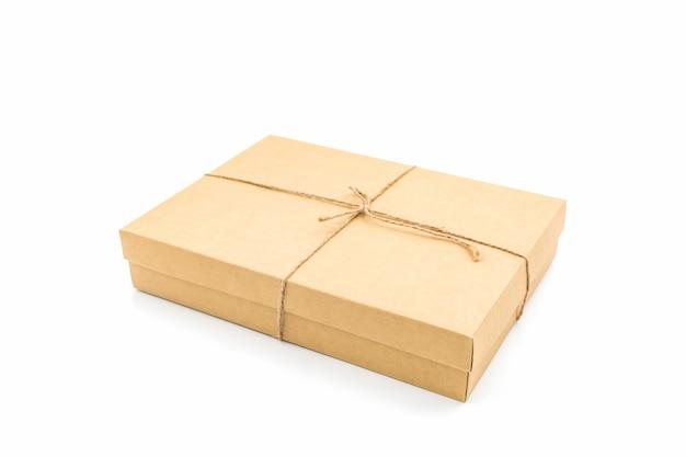 Brązowy papier pudełko