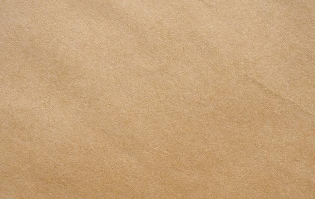 Brązowy papier z recyklingu kraft arkusz tekstury tło kartonowe
