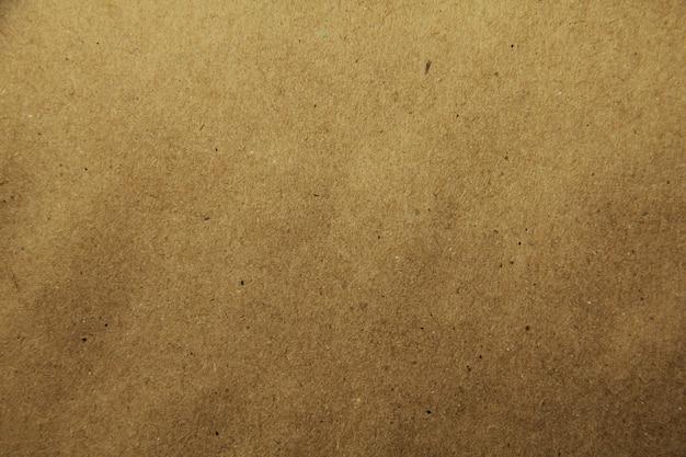 Brązowy papier z recyklingu z bliska tekstury
