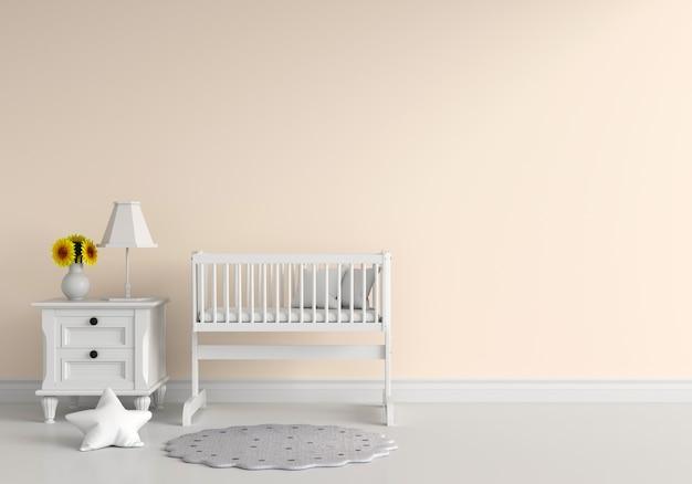Brązowy Pokój Dziecięcy Premium Zdjęcia