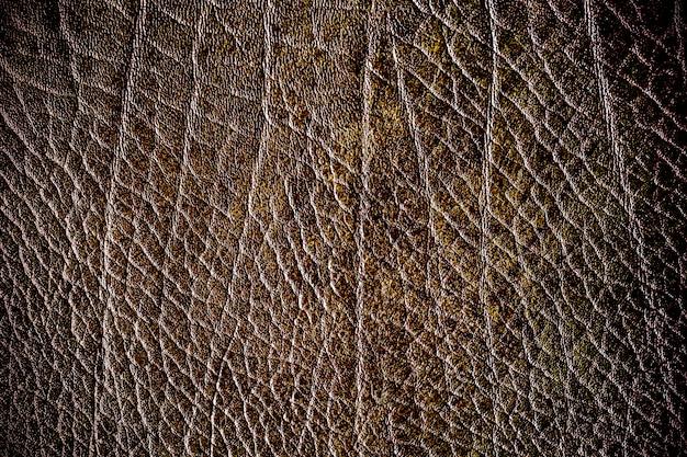 Brązowy skórzany tło