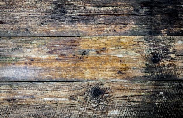 Brązowy stary tekstura drewna z węzłem