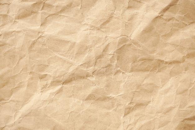 Brązowy wzór papieru recyklingu zmarszczek