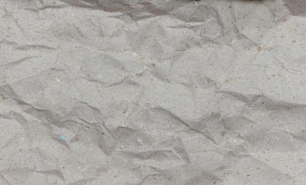 Brązowy zmięty papier tekstury tła
