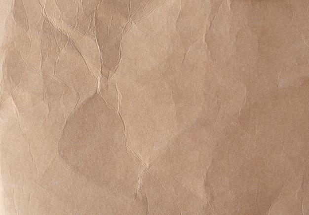Brązowy Zmięty Papier Tekstury Premium Zdjęcia