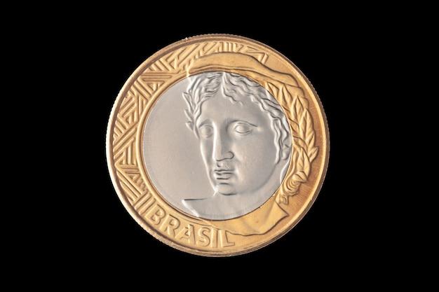 """Brazylijska moneta """"1 prawdziwa"""""""