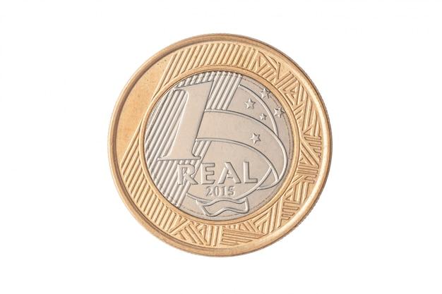 """Brazylijska moneta """"1 real"""" 2015"""