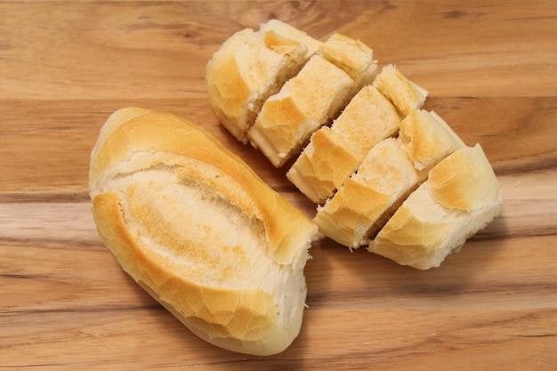 Brazylijskie jedzenie. chrupiący brazylijski chleb