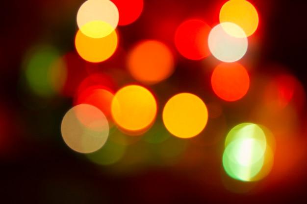 Brokat bokeh kolor światła nieostre tło