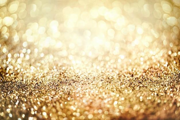 Brokat złoty bokeh colorfull niewyraźne streszczenie tło na rocznicę