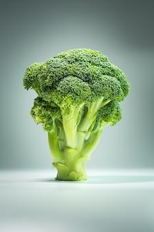 Brokuły z bliska